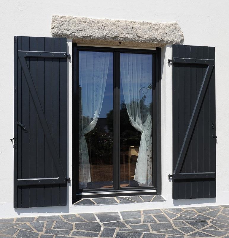 Fenêtre Mixte Pvcaluminium Menuiserie Moureau